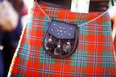 Scottish kilt — Stock Photo