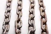 ржавые цепи — Стоковое фото