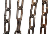 Rusty chains — Stock Photo