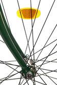 Bicycle spokes — Stock Photo