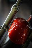 Sospensioni anteriori moto — Foto Stock