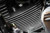 オートバイ エンジンμοτοσικλέτα μηχανή — ストック写真