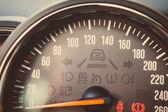 Speedometer detail — Stock Photo