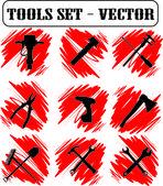 Strumenti vettoriali — Vettoriale Stock