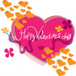 Happy Valentine's Day! — Stock Vector