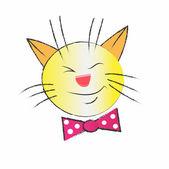Cat head — Stock Vector