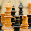 Chess game figures — Stock Photo