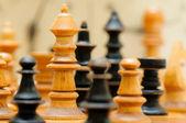 Figure gioco scacchi — Foto Stock