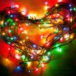 Stock Photo: Love lights