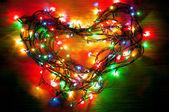 любовь огни — Стоковое фото