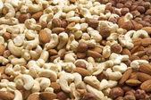 смешанные орехи — Стоковое фото