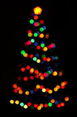 Kerstboom — Stockfoto