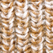 Knitted beige texture — Stock Photo
