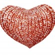 Knitted heart — Foto de Stock