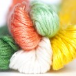 Multicolor threads clew — Stock Photo