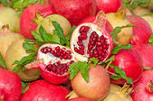 Bunch of Pomegranates — Stock Photo