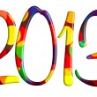 Welcome new 2013 year  — Stock Photo