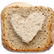 Lovely bread slice — Foto de Stock