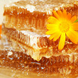 Royalty-Free Stock Photo: Honey pyramid