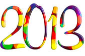 Welcome new 2013 year — Stockfoto