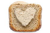 Lovely bread slice — Foto Stock