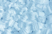 Blue foam — Stockfoto