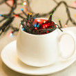 Foto de Stock  : Lights in cup