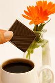 Morgonkaffe — Stockfoto