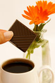 Ranní káva — Stock fotografie