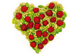 Gezond hart — Stockfoto
