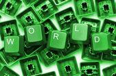 Wereld — Stockfoto