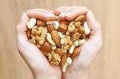 смесь орехов — Стоковое фото
