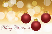 Najlepsze życzenia Wesołych Świąt — Zdjęcie stockowe