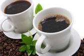 2 つのコーヒー — ストック写真