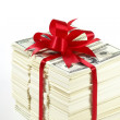 Stack of money - Stock Photo