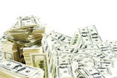 Pila de dinero — Foto de Stock