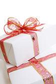 Bílý dárek — Stock fotografie
