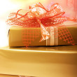Gifts boxes — Stock fotografie