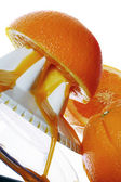 Fresh Oranges — Stockfoto
