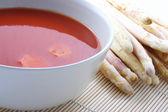 Domates çorbası — Stok fotoğraf