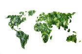 Leaves World — Stock Photo