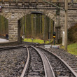 Stockfoto: Rack railway track