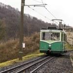 Rack railway track — Stock Photo
