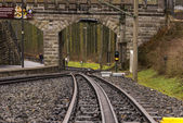 Rack railway track — Stock Photo