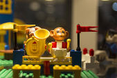 Details of a LEGO — Stock Photo