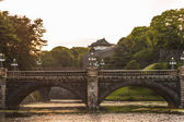 Glimpse of the imperial Palace — Stock Photo