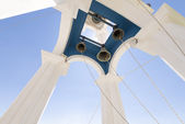 Typical Greek orthodox church bell tower — Stockfoto
