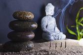 Sitting Buddha — Stock Photo