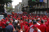 Mobilization Chavez. Caracas, January 10, 2013, 03:35:34 p.m. — Stock Photo