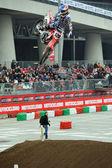 Cedric Soubeyras, european supercross champion, at EICMA fair, M — Stock Photo
